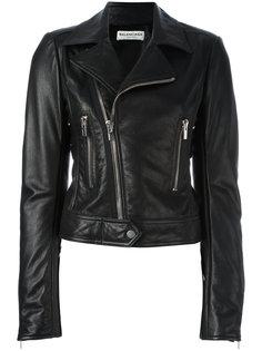 байкерская куртка на молнии Balenciaga