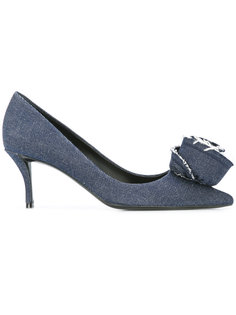 denim pumps Roger Vivier