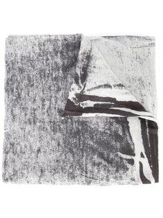 шарф с высветленным эффектом Label Under Construction