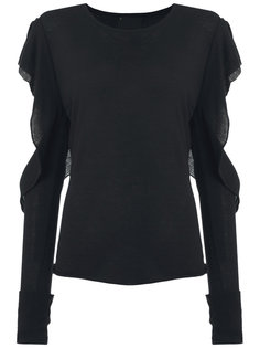 cut out blouse Andrea Bogosian
