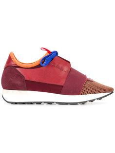 кроссовки с контрастными вставками Balenciaga