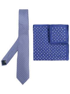 комплект из галстука и нагрудного кармана Lanvin