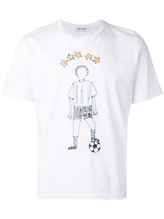 embroidered football T-shirt Jimi Roos