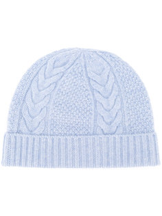 cable knit beanie N.Peal