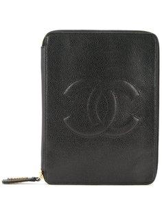 сумка-клатч с логотипом СС Chanel Vintage