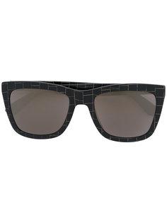 square lens sunglasses Mykita