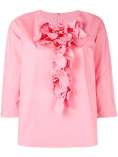 ruffled detail shift blouse Comme Des Garçons Comme Des Garçons