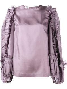 блузка с рюшами Coote Dries Van Noten