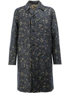 жаккадрдовое пальто  Dries Van Noten
