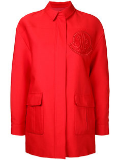 single breasted coat Moncler Gamme Rouge