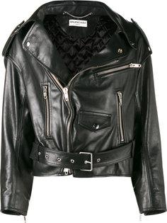 байкерская куртка Balenciaga