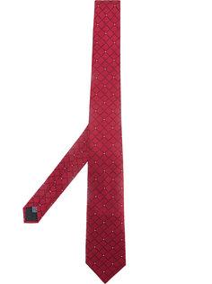 галстук с геометрическим узором Cerruti 1881