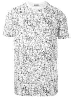 футболка с сетчатым узором Dior