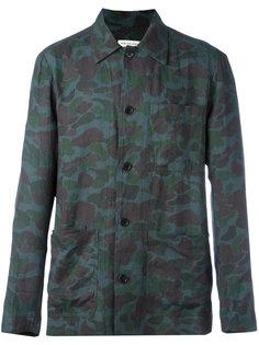 рубашка с камуфляжным принтом Dries Van Noten