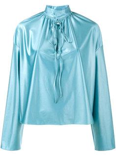 блузка с завязками на бант Balenciaga