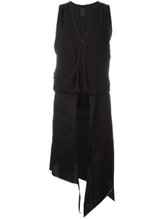 asymmetric layered waistcoat Thom Krom