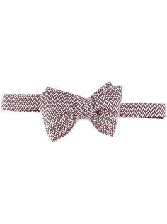 галстук-бабочка с геометрическим узором Tom Ford