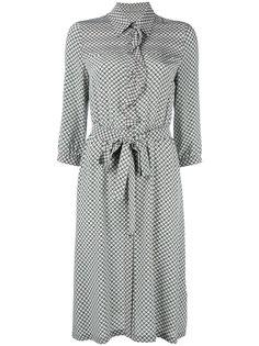 платье в клетку Bottega Veneta