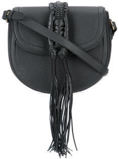 сумка на плечо с плетеной деталью Altuzarra