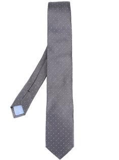 галстук с узором в горох Prada