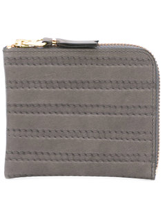 бумажник с простроченной отделкой Comme Des Garçons Wallet