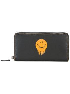кошелек с принтом смайла Coach