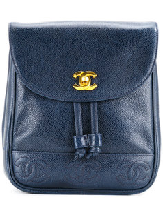 рюкзак с логотипом CC Chanel Vintage