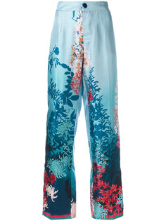 botanical print trousers F.R.S For Restless Sleepers