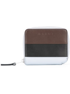 кошелек дизайна колор-блок Marni