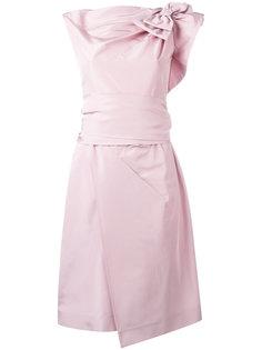 платье с бантом Prada