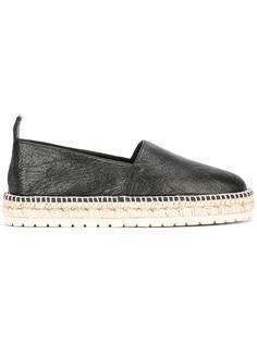 эспадрильи с закругленным носком Balenciaga