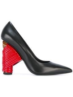 туфли на контрастном каблуке  Balenciaga