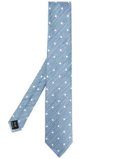 галстук в горошек Tom Ford