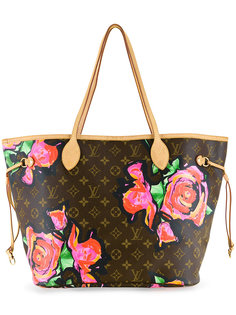 Neverfull floral print tote Louis Vuitton Vintage