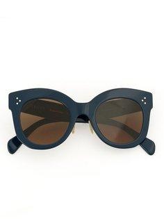 oversized round sunglasses Céline Eyewear