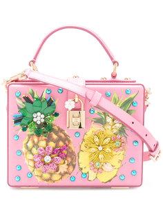 сумка с ананасом Dolce & Gabbana