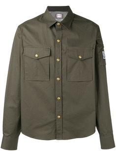 cargo pocket shirt Moncler Gamme Bleu