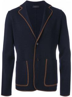 пиджак с застежкой на две пуговицы Prada