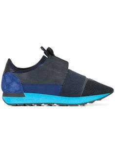 кроссовки с панельным дизайном Balenciaga