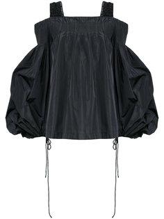 блузка шифт на завязках Dries Van Noten