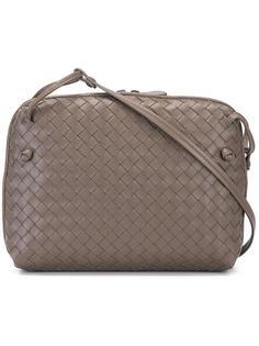сумка через плечо с плетеным эффектом Bottega Veneta