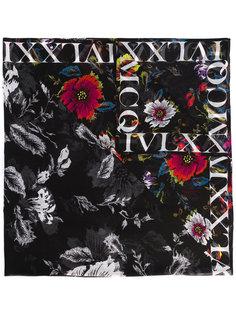 шарф с цветочным принтом McQ Alexander McQueen