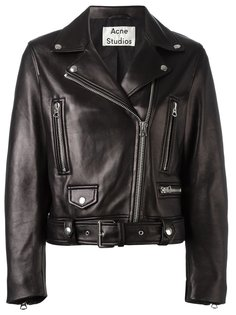 байкерская куртка с ремнем Acne Studios