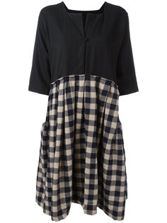 checked dress Daniela Gregis