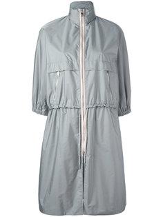 пальто с высокой горловиной Prada