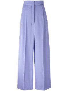 широкие брюки с завышенной талией Céline