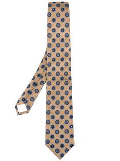 галстук с вышивкой Prada
