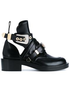 ботинки м ремешками на пряжке  Balenciaga