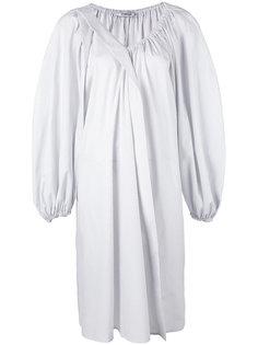 полосатое мешковатое платье  Chalayan