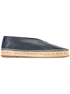 эспадрильи с заостренным носком Céline